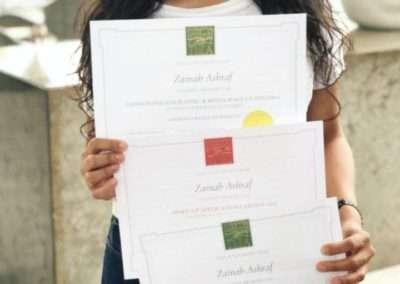 Testimonials Zainab Ashraf