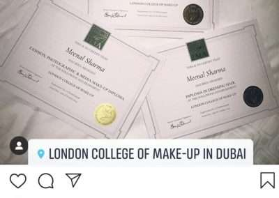 London College of makeup reviews.